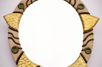 Specchio diam. 50 cm.