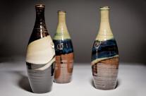 Bottiglie h 30 cm.